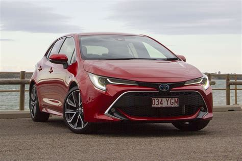 2019 corolla hatchback xse with automatic transmission preliminary 30 city/38 hwy/33 combined mpg estimates determined by toyota. Toyota Corolla Hybrid hatch 2018 review: ZR | CarsGuide