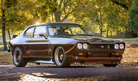 This Inglese-injected 1973 Ford Capri Is Ready For Power Tour