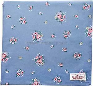 Tischdecke 350 X 150 : greengate tischdecke nicoline dusty blue 150 x 150 cm ~ Watch28wear.com Haus und Dekorationen