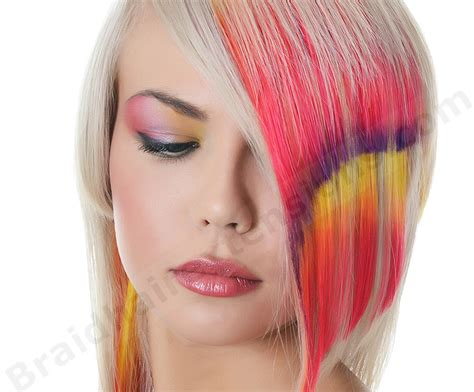 Hair Chalking And Color Smashing Two Glamorous Techniques
