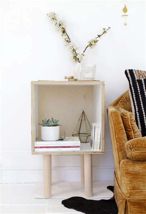 table basse en cagette 1001 id 233 es diy pour faire une table de chevet en palette