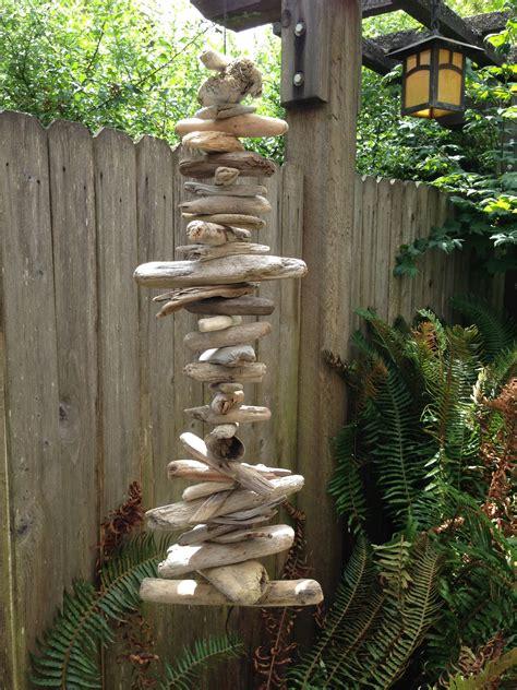 hanging driftwood diy   home driftwood art