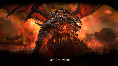 Deathwing Animated Wallpaper - soul deathwing world of warcraft voice