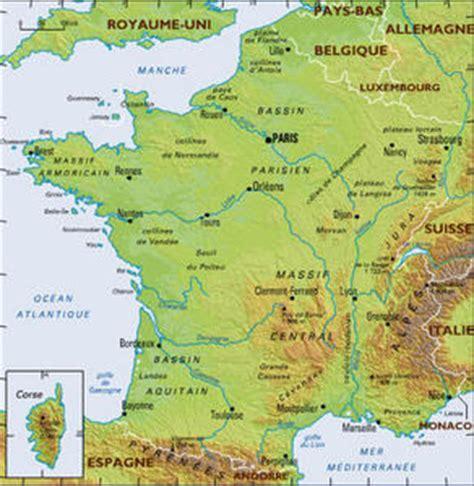 Carte De Montagnes Ce2 by Geographie Cartes De Le De La Classe De