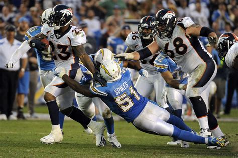 Denver Broncos Vs. San Diego Chargers