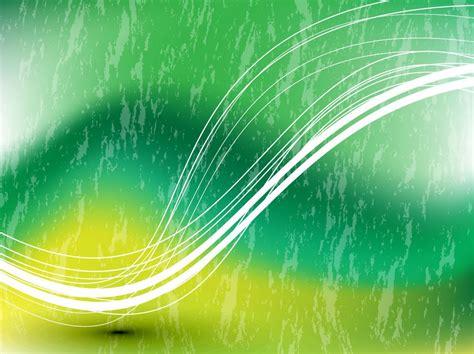 green swoosh vector background