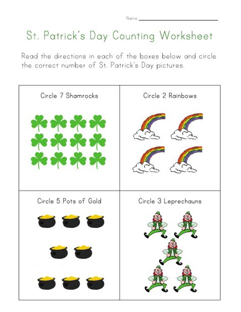 preschool worksheets for st patrick s day crafts actvities and worksheets for preschool toddler and