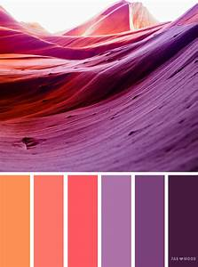 Orange and purple color scheme,orange peach and purple