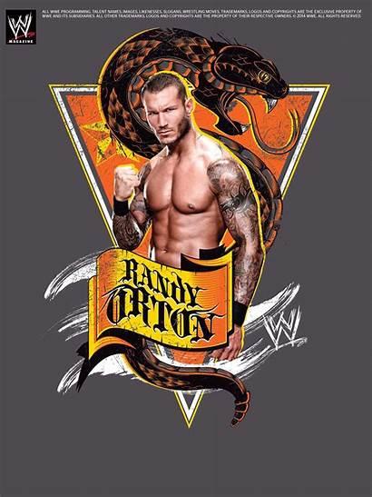 Orton Randy Wwe Poster Magazine Apex Predator
