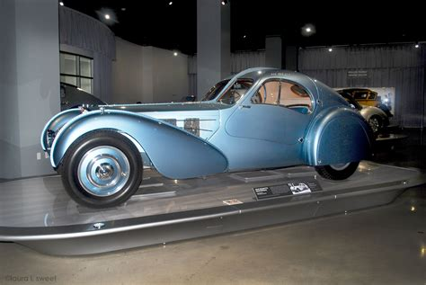 Bugatti has just begun construction of its new type 57, designed and engineered by founder ettore bugatti's son jean. 1936 Bugatti Type 57SC Atlantic at the Petersen Museum, photo ©laura l. sweet   Cars motorcycles ...