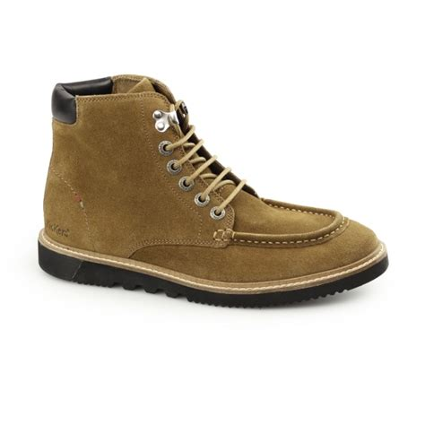 kickers kwamie boot mens suede moccasin boot buy at shuperb