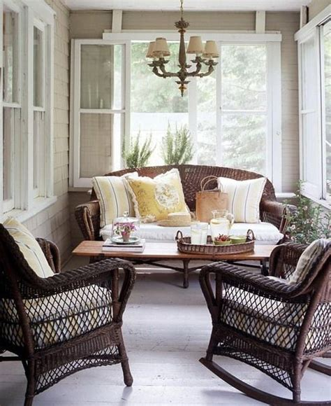 Cheap Porch Furniture by 33 Creative Porch Decorating Ideas Shelterness Outdoor
