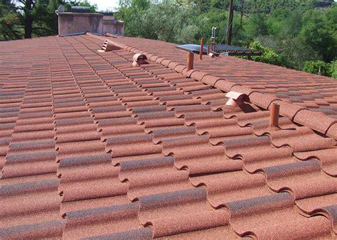 decra villa tile rustico clay decra quot villa tile quot metal roofing fairweather roofing inc