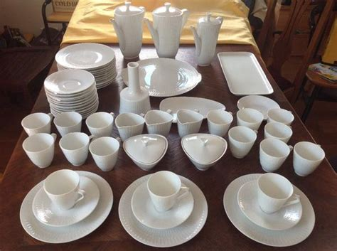 Hutschenreuther Weißes Porzellan by Hutschenreuther Kaffeeservice Apart Wei 223 12 Teilig In