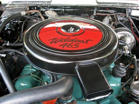 buick riviera wildcat  engine  optional