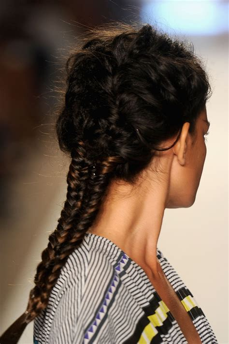 celebrity hairstyles  braid hairstyles fishtail