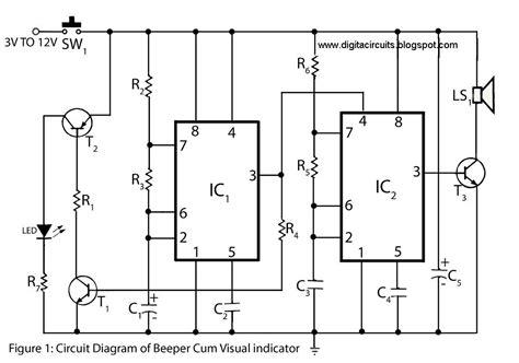 Build Beeper Visual Indicator Circuit The