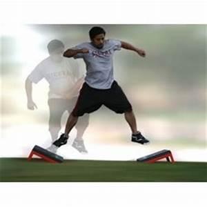 Amazon.com : Plyometric Lateral Side Jump Angle Plyo Boxes ...