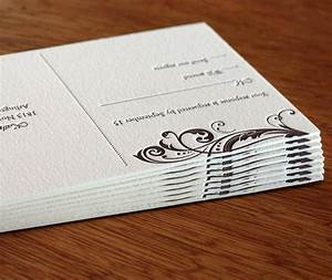 Double thick paper for letterpress wedding invitations for Wedding invitation paper thickness