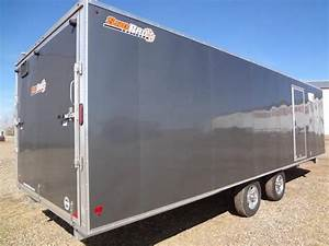 2012 Sno Pro E6 5x26 Enclosed Snowmobile Trailer