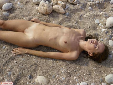 Hegreart Nude Marcelina In Sexy Sandy Photos Erotic Beauties