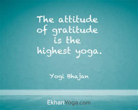 Yoga Quotes On Gratitude