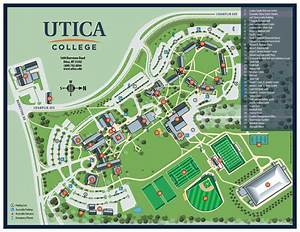 Campus Map - Utica College