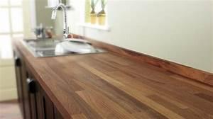 Cuisine Plan De Travail Bois : plan de travail bois cuisine douillet ~ Dailycaller-alerts.com Idées de Décoration