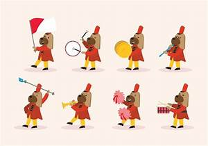 Marching Band Vector | www.pixshark.com - Images Galleries ...