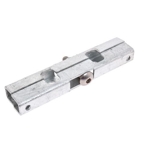 10x doppelstabmatten l 228 ngsverbinder zink