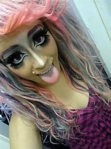 bad makeup on Tumblr