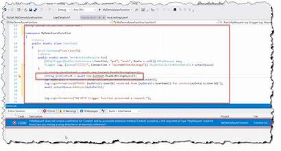 Definition Contain Does Httprequest Accessible Method Found