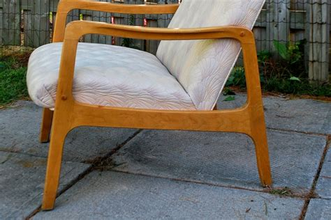 tribute 20th decor mid century high back lounge chair