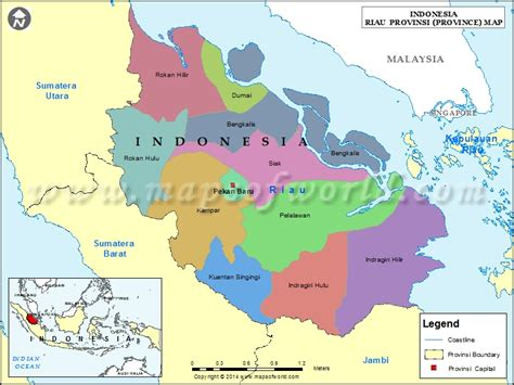 riau map map  riau province indonesia