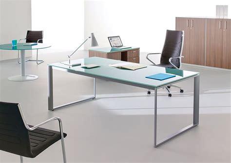 plateau de verre bureau plateau de verre pour bureau maison design bahbe com