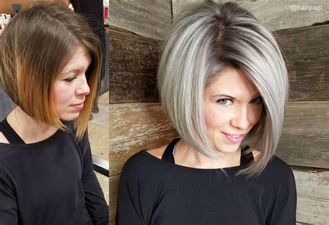flattering hairstyles  thinning hair popular