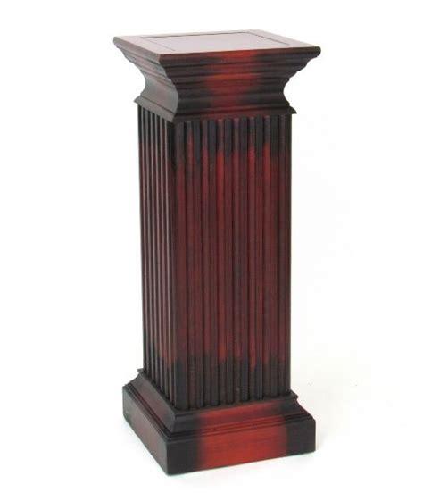 Column Pedestal by Square Column Pedestal Plant Stands At Hayneedle