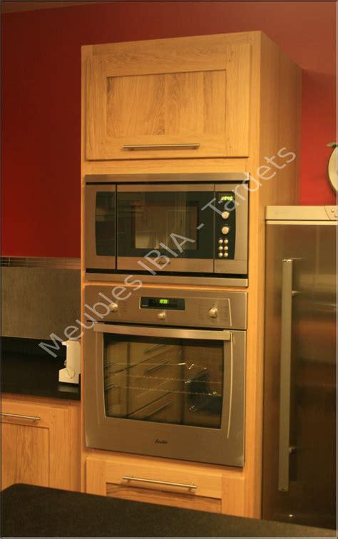 meuble cuisine colonne four meuble de cuisine colonne four 15 idées de décoration