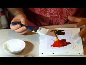 Comment Encadrer Une Toile : cours beaux arts comment coller une image ou une photo sur toile youtube ~ Voncanada.com Idées de Décoration