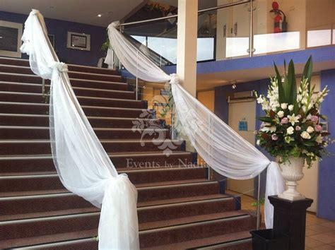 wedding staircase decoration ideas  pinterest