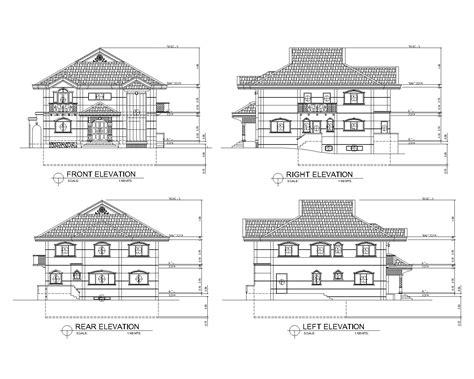 home design cad autocad home design sle house plans cad house plans