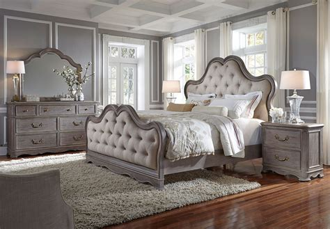 Bedroom Set by Simply Charming Upholstered Bedroom Set Pulaski Furniture
