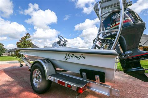 Yellowfin Skiff 17 by 17 Yellowfin Skiff Brand New The Hull Boating