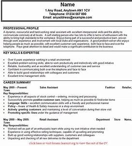 sample cv sales assistant uk resume writing services With sales cv template uk