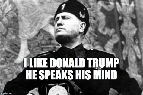 Mussolini Memes - will the gop dare to kick trump out ha
