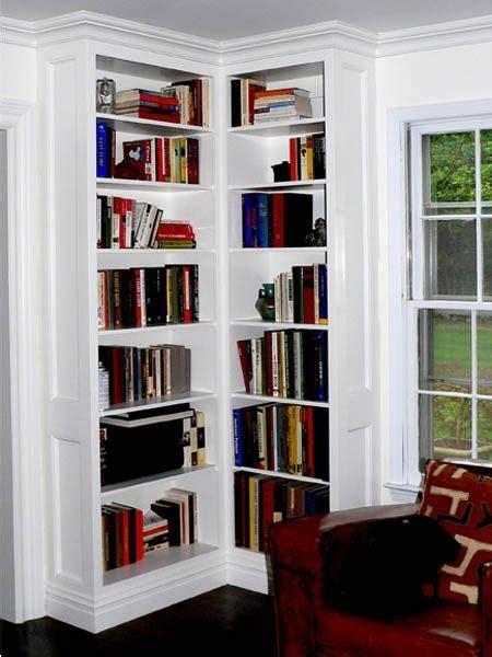 built  corner bookcases bookshelves built  built
