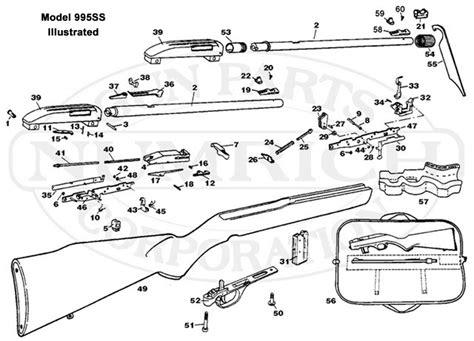 Parts marlin diagram 60 model Gun Parts
