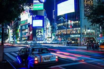 Tokyo Downtown 4k Travel