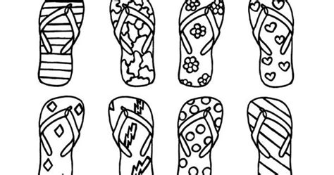 Print And Color Flip Flop Memory Game