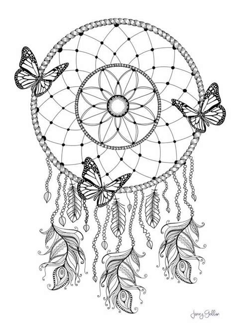 Dream Catcher Coloring pg | Ausmalbilder, Mandala ausmalen